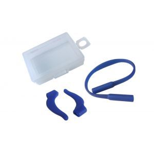 silicone anti-skipping off ropes and ear hooks when sporting blue