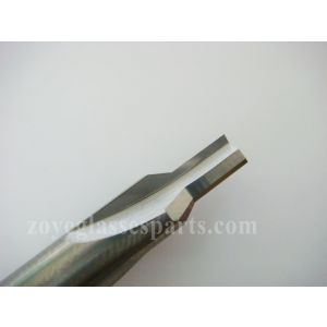 cutter tool for installing hinge TSH-55-A onto temples for eyeglass frame