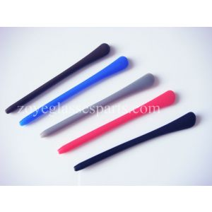 round hole silicone side ends replacment for eyeglass