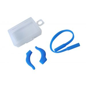 sky blue anti slipping ropes and ear hooks