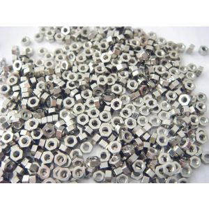 hex nuts for rimless eyewear frame M1.4
