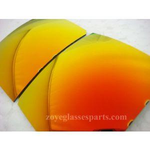 st orange polarized lenses for sunglasses TAC material FDA certificate 55*65cm size