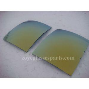 gold 55*65cm 4 base 1.0mm thickness polarized lenses for sunglasses TAC polarized lenses
