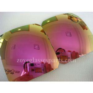 beautiful rose sunglasses lens polarized 55*65cm 1.0mm thickness 4 base