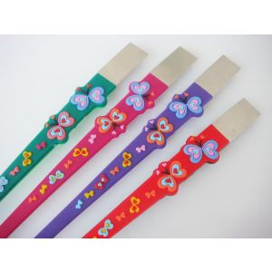 plastic temples arms for kids children eyeglass frame various color available with metal head