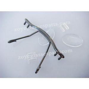 clip on style saddle bridges for optical eyewear TB-179 gun