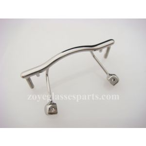 light gun bridge for rimless eyeglass frame replacement light durable TB-311 sold with nose pads