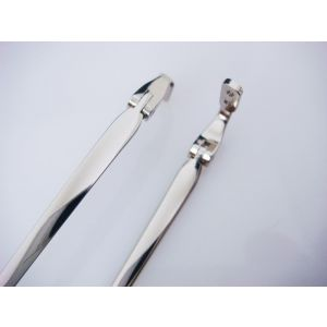 super quality stainless steel eyeglass temples with acetate tips