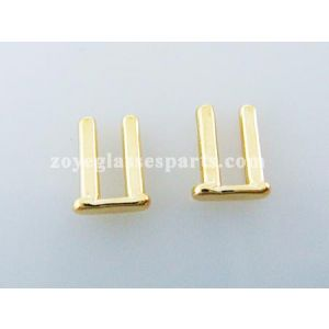 5.5mm double attached pins for all purpose hinge  gold color