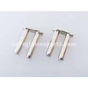 6.0mm double plugs for hinge mounting TDV-02  silver color