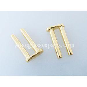 7.0mm double rivets for wayfarer hinges TDV-03 gold