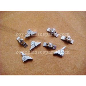 2.5mm stop angle eyeglass hinges welded on TH-04