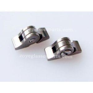 2.5mm titanium eyeglass hinge