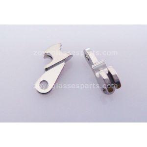 1.0mm barrelled hinge for repairing for plastic frames