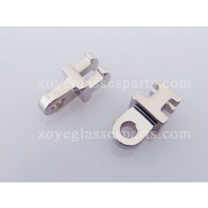 1.2mm single barrel hinge for replacement for acetate frame