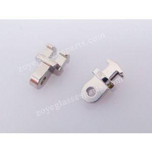 1.6mm teeth front hinge for soldering eyeglass hinges