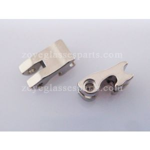 replacement part front hinge for 4.4mm eyeglass flex hinge