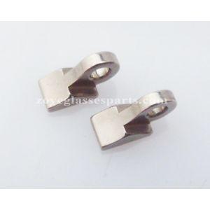 2.5mm soldering on male hinge for metal eyeglass frame high nickel