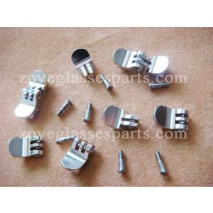 5.5mm round hidden hinge for acetate eyeglass,5 teeth for acetatate frames