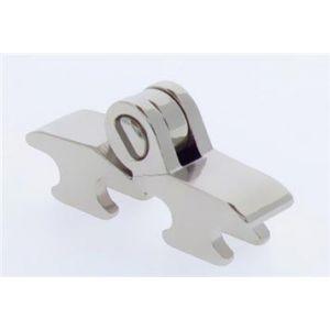 3mm square hinge for plastic frames