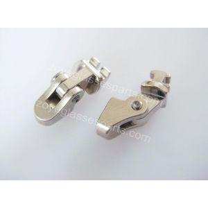 soldered on hinge for metal plastic frame 3.5mm wide
