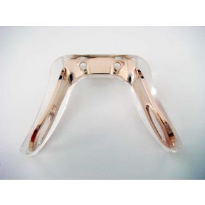 silicone nose bridge gold color none hurt 1 gram, silicone saddle bridge adjustable with pads