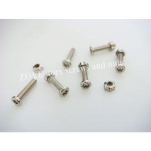 torx nuts M1.4 with various length torx screws