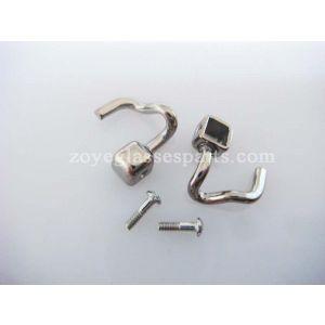 screw on nose pad arms repairing for titanium frame  TP-23