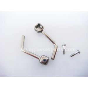 bracket with silicone nose pads for titanium eyeglass TP-24