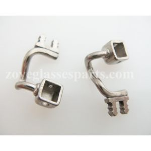 one short titanium pad arms for plastic frame TP-32 10mm width