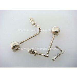 arm guard  for acetate sunglasses TP-68  silver color