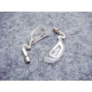 bracket for plastic eyeglass
