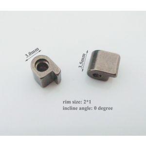 rimlocks for titanium spectable 3.5*0*2*1mm size