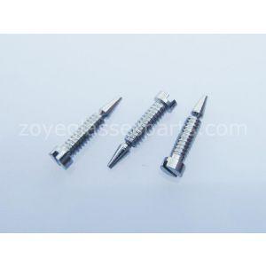 slot head snap it screws for spring hinge eyeglass repairing M1.4  5mm length