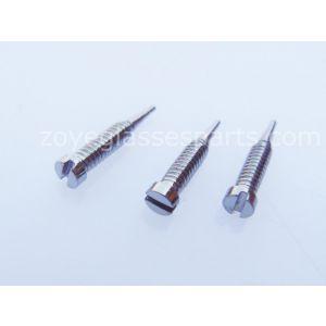stainless steel micro eyeglass spring hinge screws M1.4*4.5 4.5mm length