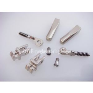 small spring hinge for eyeglass replacement 2.6mm width 11.2mm length