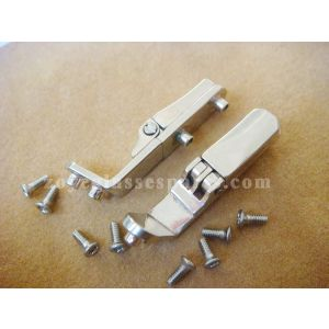 double spring hinges for wood plastic horn spectacle frame