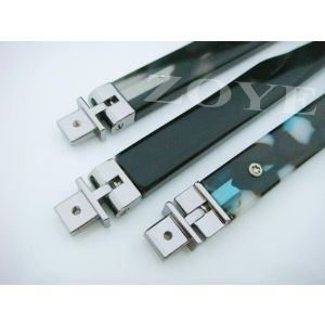 180 degree spring hinge with terminals for man or kids eyeglass
