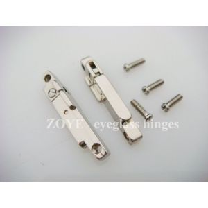 double spring hinge for plastic wooden sunglasses screw on