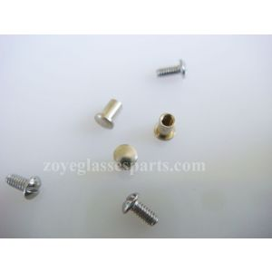 eyeglass bolts and screws   M1.4 2.5mm height