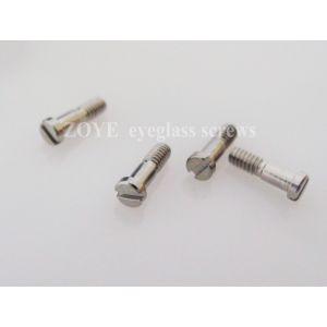 fine made eyeglass screws for hinges M1.4*5.0 , half thread