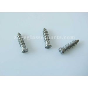 eyeglass screws for wood bamboo frames,1.6*6.0mm, philip head, pointed end