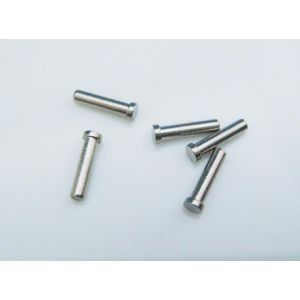 1.15 diameter and 5.0mm single metal plug for eyeglass hinge mounting TSV-04
