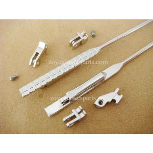 2.6mm spring hinged metal core for acetate sunglasses
