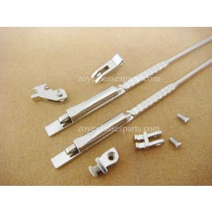 2.4mm spring hinged wire cores for acetate sides for sunglasses