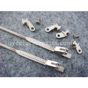 metal wire in acetate temples,wire cores in plastic arms, sides for eyewear frame