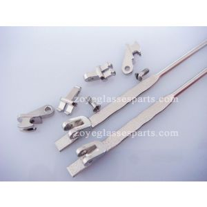 3.5mm hinged wire cores in plastic temples