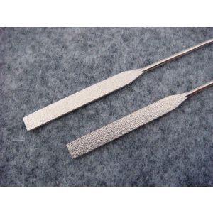metal wire for acetate eyewear temples 4mm width sandy tower pattern 135mm length