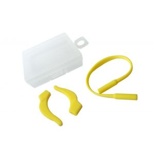 yellow anti-slipping ropes and hooks for sporting eyewear