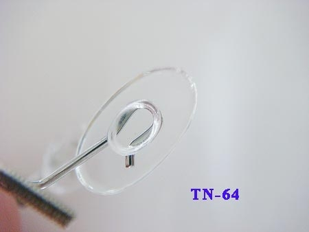13mm slide on silicone nose pads for replacement